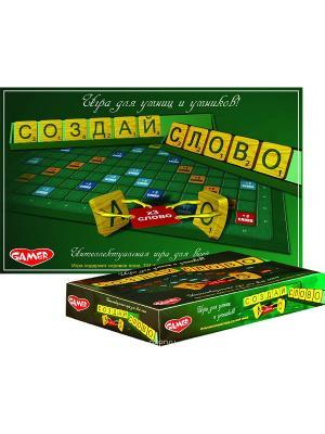 Детская настольная игра Создай слово DREAM MAKERS. Цвет: зеленый