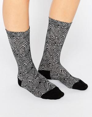 Falke Черные носки Okapi. Цвет: черный