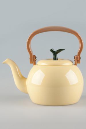 Чайник 1,4 л Ejiry. Цвет: желтый