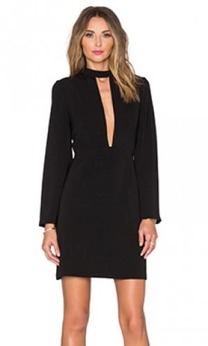 Вечернее платье с вырезом спереди JILL STUART. Цвет: черный