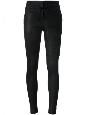 Классические брюки скинни Isabel Benenato. Цвет: чёрный
