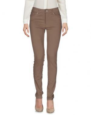 Повседневные брюки HENRY COTTON'S. Цвет: светло-коричневый
