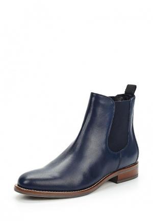 Ботинки Tervolina. Цвет: синий