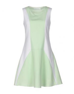 Короткое платье ANONYME DESIGNERS. Цвет: светло-зеленый