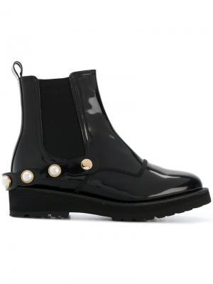 Ботинки с ремешком Suecomma Bonnie. Цвет: чёрный