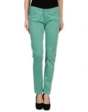 Повседневные брюки AG ADRIANO GOLDSCHMIED. Цвет: светло-зеленый