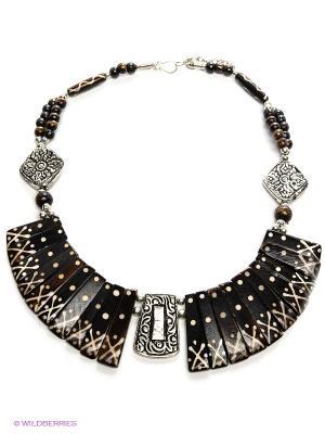 Ожерелье ГАНГ. Цвет: черный, белый