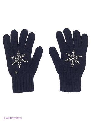 Перчатки Finn Flare. Цвет: темно-синий