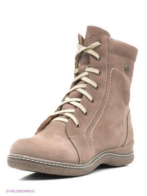 Ботинки San Marko. Цвет: серо-коричневый