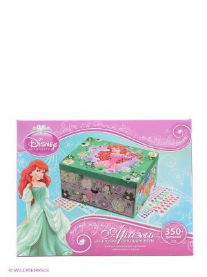 Disney Princess Мозаика-шкатулка Ариель Чудо-творчество. Цвет: розовый, зеленый, фиолетовый