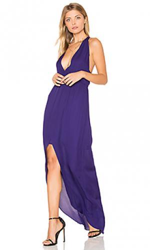 Вечернее платье maid hampton Rory Beca. Цвет: фиолетовый