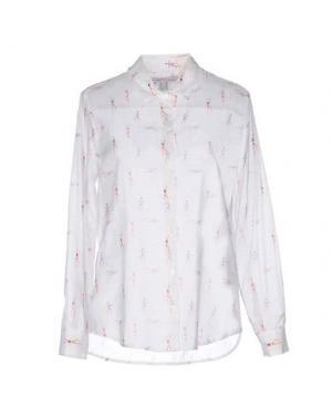 Pубашка OTTOD'AME. Цвет: белый