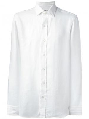 Спортивная рубашка Salvatore Piccolo. Цвет: белый