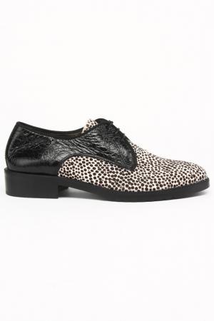 Ботинки Bouton. Цвет: черный, белый