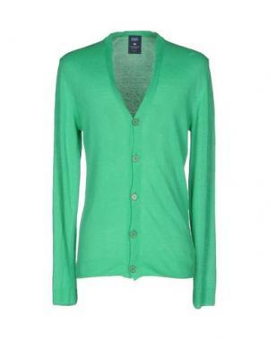 Кардиган WOOL & CO. Цвет: зеленый