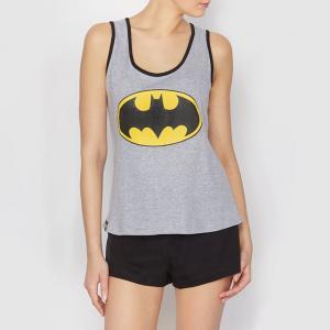 Пижама с шортами BATMAN. Цвет: серый + черный