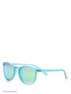 Солнцезащитные очки Polaroid. Цвет: темно-зеленый