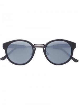 Солнцезащитные очки PANAMA BLACK MATTE ZERO Retrosuperfuture. Цвет: чёрный