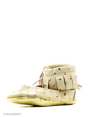 Пинетки U.S. Polo Assn.. Цвет: коричневый