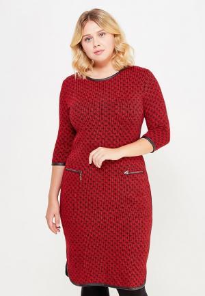 Платье Vay. Цвет: красный
