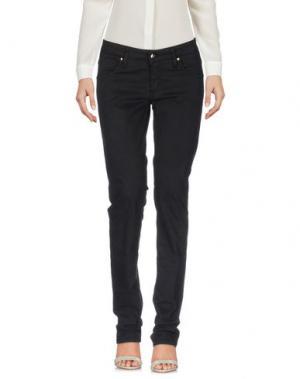 Повседневные брюки HEAVY PROJECT. Цвет: черный