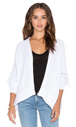 Кардиган brett 360 Sweater. Цвет: белый