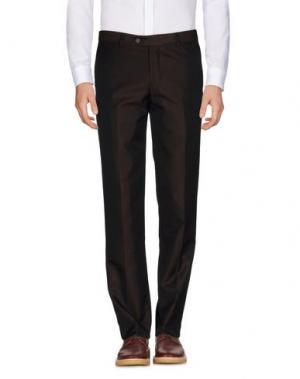 Повседневные брюки MAESTRAMI. Цвет: темно-коричневый
