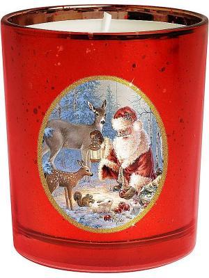 Свеча Mister Christmas. Цвет: красный