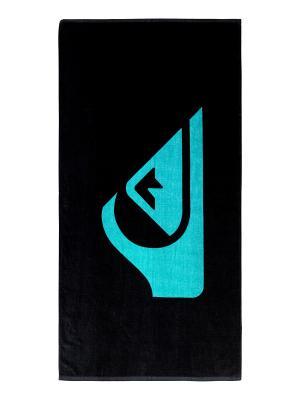Полотенце Quiksilver. Цвет: черный,голубой
