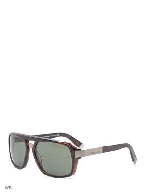 Солнцезащитные очки DQ 0028 52N Dsquared2. Цвет: коричневый