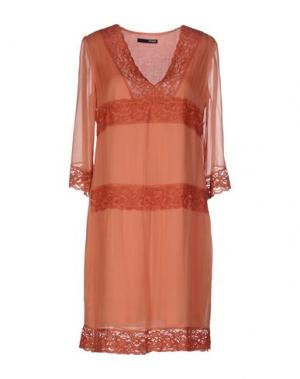 Короткое платье .TESSA. Цвет: коралловый