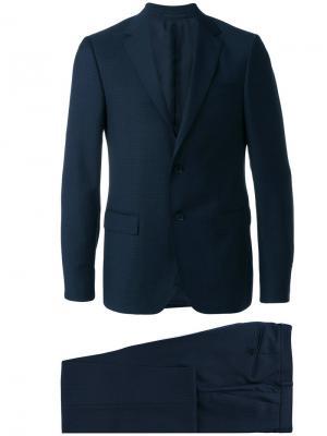 Классический костюм-двойка Z Zegna. Цвет: синий