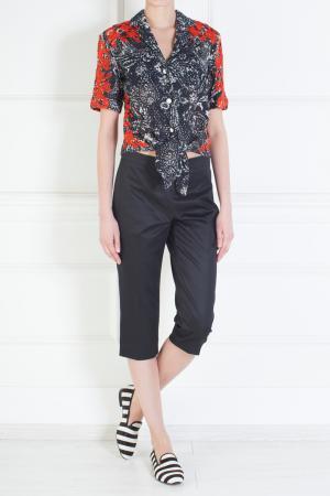 Хлопковые брюки Giambattista Valli. Цвет: none