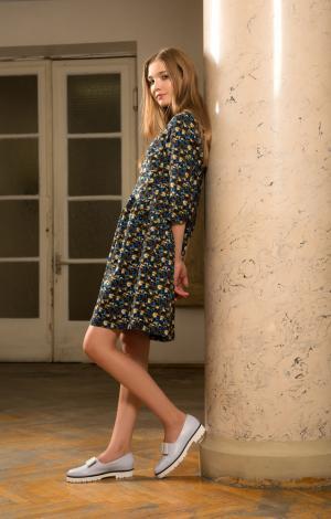 Платье Коричневое Trends Brands Base