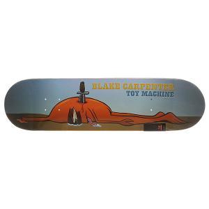 Дека для скейтборда  Blake Back Stab Multi 31.5 x 8.125 (20.6 см) Toy Machine. Цвет: мультиколор