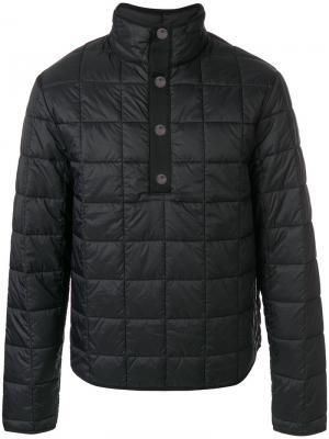 Стеганая куртка Stutterheim. Цвет: чёрный