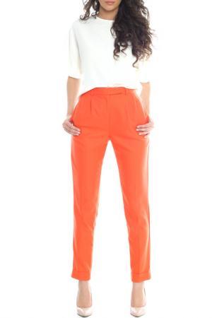 Брюки Emma Monti. Цвет: оранжевый