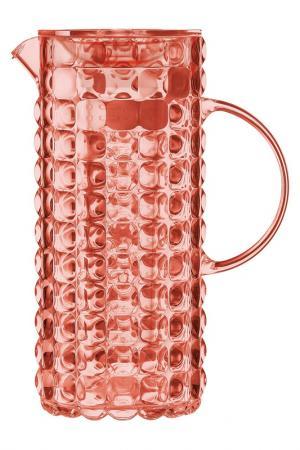 Кувшин с колбой для льда GUZZINI. Цвет: красный