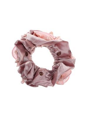Резинка Infiniti. Цвет: розовый