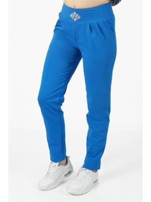 Спортивные брюки CROSS sport. Цвет: бирюзовый