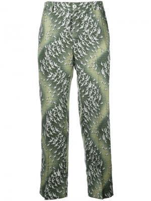 Пижамные брюки Tartaro F.R.S For Restless Sleepers. Цвет: зелёный