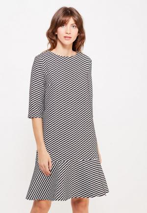 Платье Clabin. Цвет: разноцветный