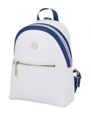 Рюкзаки и сумки на пояс TOMMY HILFIGER. Цвет: белый