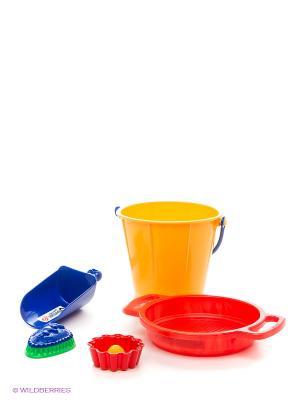 Набор для песка SPIELSTABIL. Цвет: желтый, красный, синий