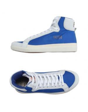 Высокие кеды и кроссовки PANTOFOLA D'ORO. Цвет: синий