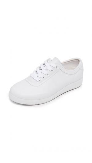 Оригинальные резиновые кроссовки с низким берцем Hunter Boots. Цвет: белый