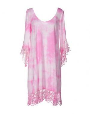 Короткое платье MONICA •LENDINEZ. Цвет: розовый