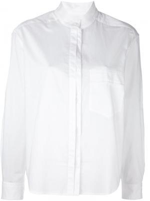 Классическая рубашка на пуговицах Equipment. Цвет: белый