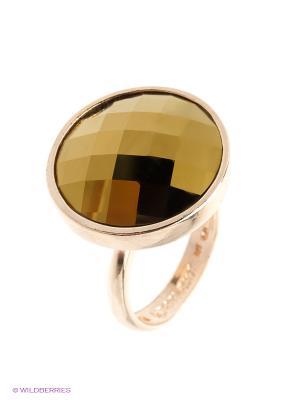 Кольцо Jenavi. Цвет: золотистый, лазурный, бежевый