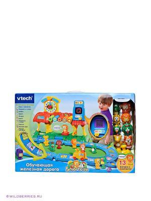 Игровой набор Обучающая железная дорога Vtech. Цвет: красный, желтый